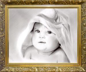 鉛筆肖像画 - 2