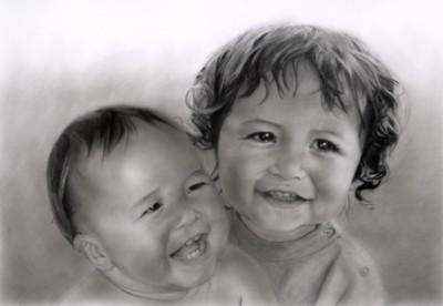 鉛筆肖像画 - 4