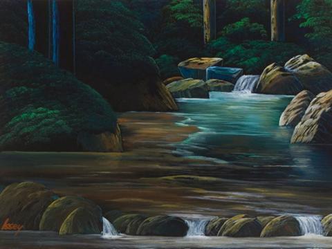 渓流風景112
