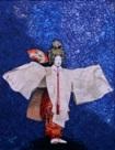 舞うII(羽衣)2007年 アクリル・油彩