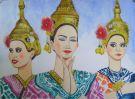 バンコクを中心に水彩画を描いています。 - 2